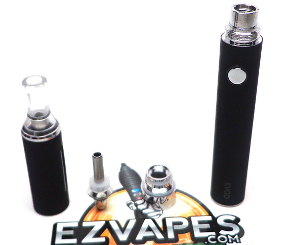 The EVOD quickly breaks down into four separate pieces.