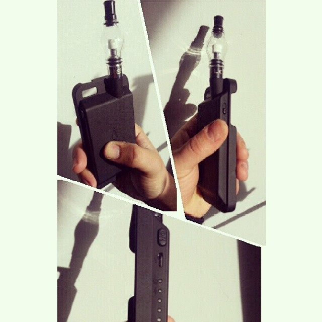 Want to turn your iPhone 5/5S into a high powered vape?