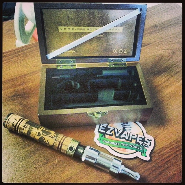 What do you think of this wooden battery? #vape #pen #ezvapes
