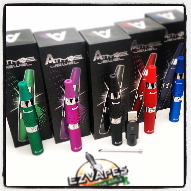 New Atmos Jewel Colors In Stock! #atmos #ezvapes #vapetheworld