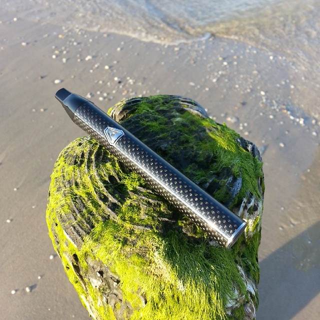 The ultimate weekend beach companion: The Jump #vape from #AtmosRx is the smallest true #dryherb #vapepen in the world and features a carbon fiber exterior. Get it at ezvapes.com, see you at the #beach! #ezvapes #vapetheworld #nofilter