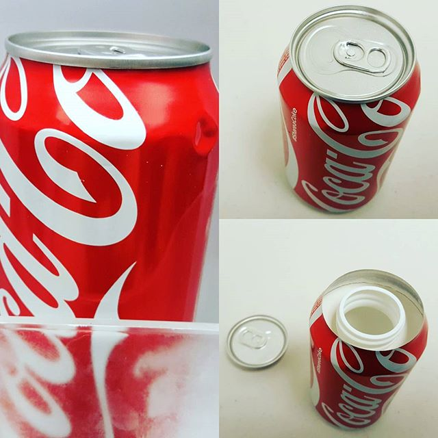 Real Soda Can Storage Safe