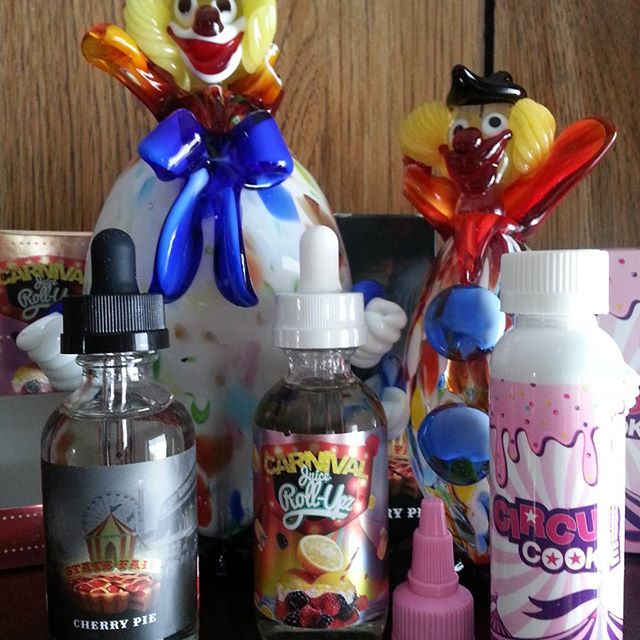 Step Right Up Don't Be Shy Don't Let These E-Juices Pass You By