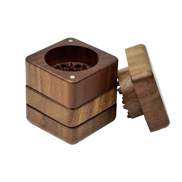 The @ryot_official 4 Piece Wood GR8TR Grinder keeps metal and magnets out of your blend for the ultimate pure grind. Grab one now and get free shipping. Link in description #ezvapes #vtw #vapethworld #grinder #ryot #gr8tr #woodgrinder