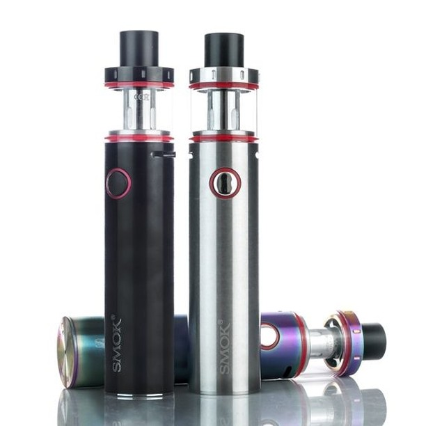 The SMOK Vape Pen Plus is the perfect #ejuice starter kit for those looking to get easy flavorful clouds without the bells and whistles #smok #vapepen #ejuices #eliquidvape #ejuicevape #penvape #smokvape #smokusa #smokmod