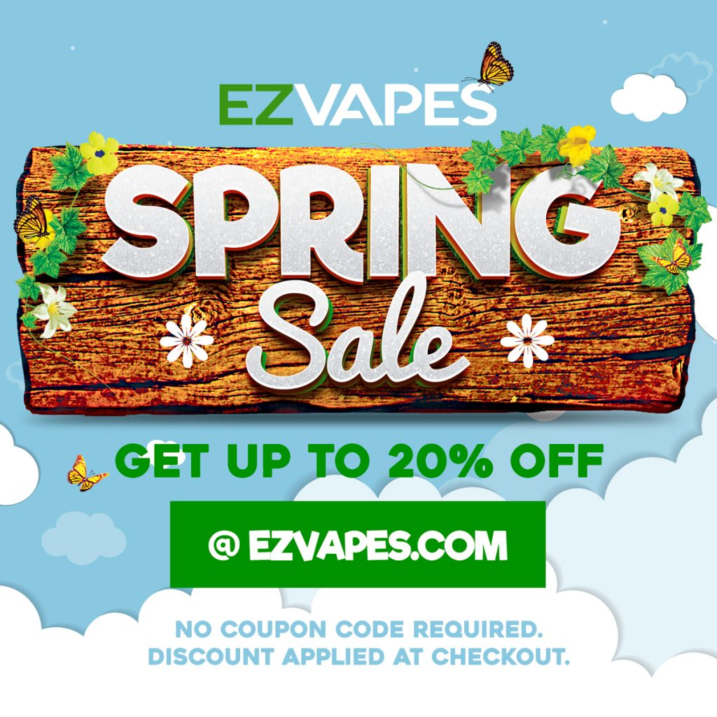 EZVapes Spring Sale