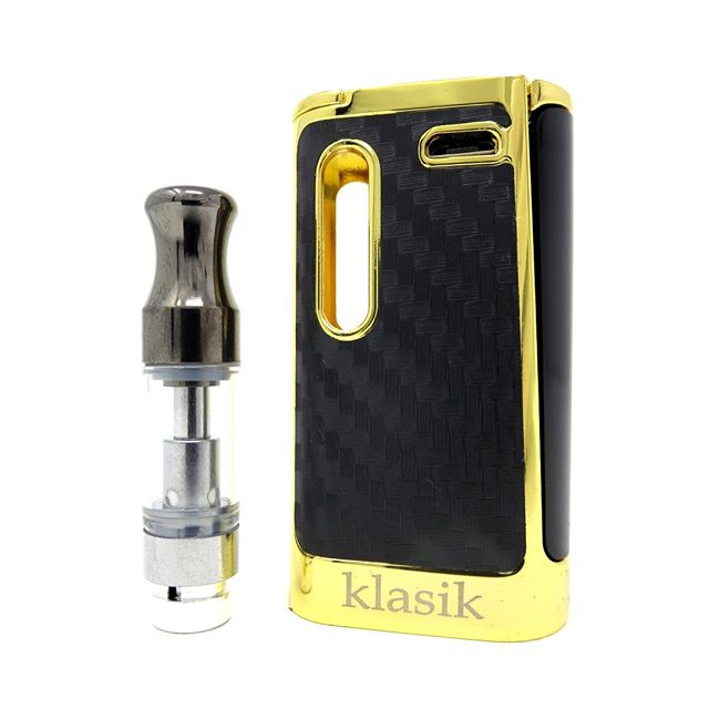 The Kangvape Klasik cartridge vape has a unique stealth button that fires when you squeeze. Available in 5 finishes at ezvapes.com #ezvapes #vtw #vapetheworld #cart #carts #cartridgevape #cartridgevapes #cartridgebattery  #cartlife #cartridges #vaporizer #710 #420 #kangvape #klasik #kangvapeklasik