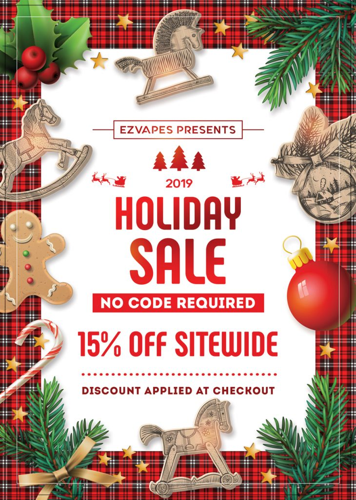 EZVapes Holiday Sale 2019
